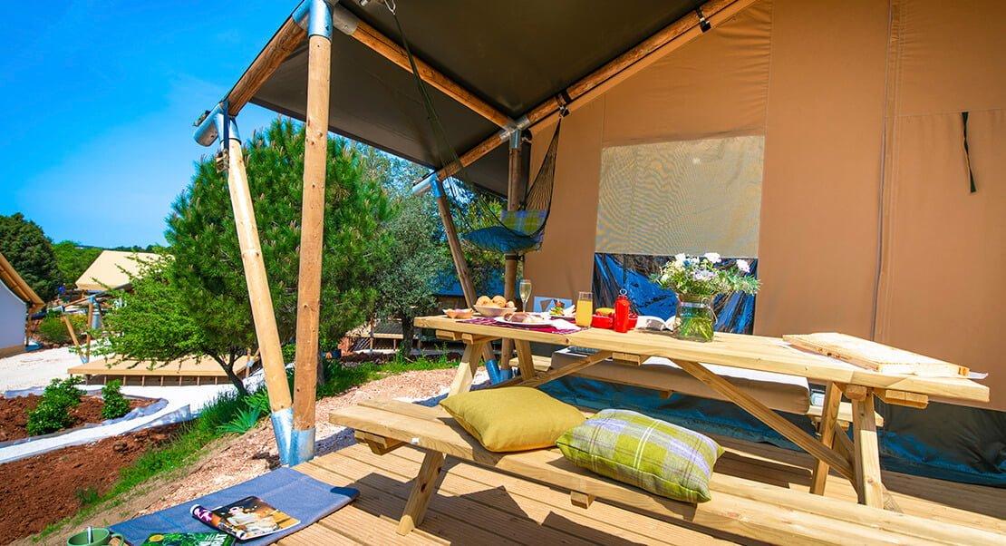 safaritent glamping luxe kamperen buitenland