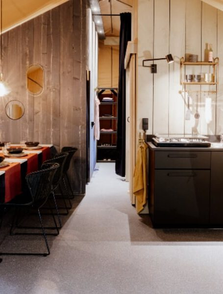 Glamping Chic Luxurious Interior Lodges